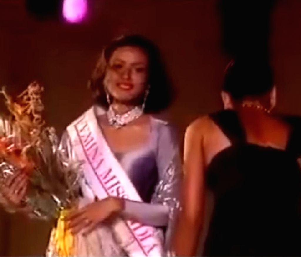 Namrata Shirodkar recalls winning Miss India.