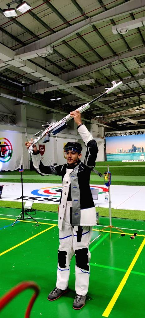 Namyaa Kapoor stuns field, clinches 25m pistol gold in World Championships - Namyaa Kapoor