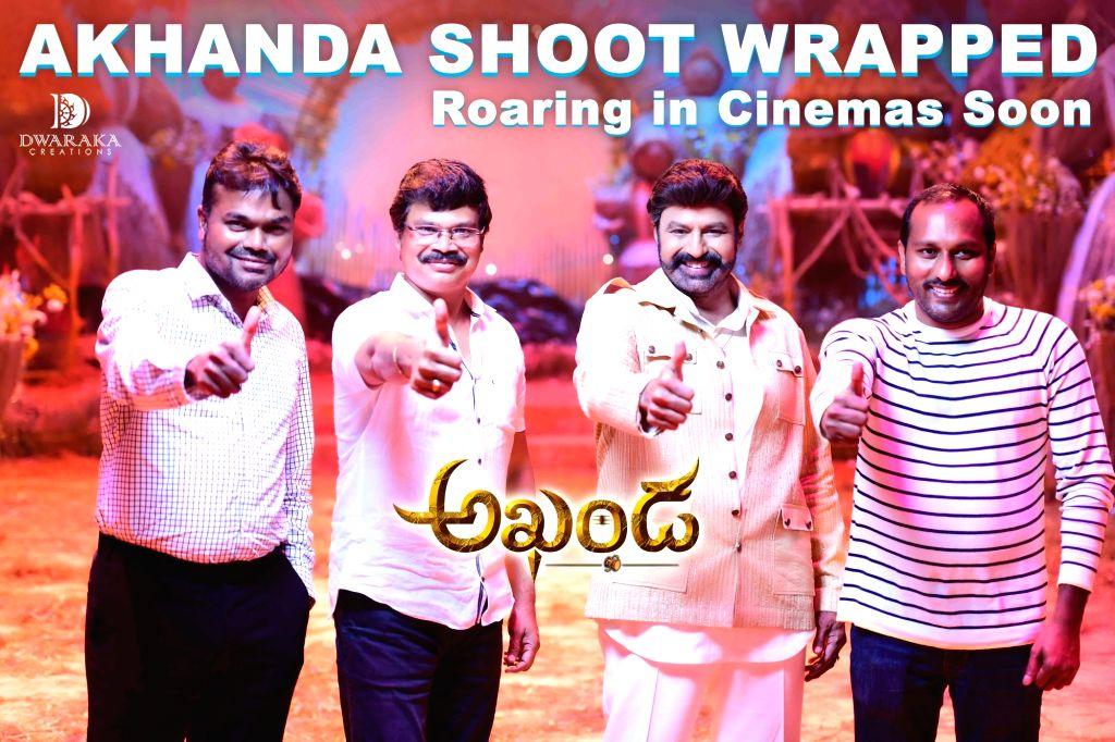 Nandamuri Balakrishna, Boyapati Srinu, Dwaraka Creations??? Akhanda Shooting Wrapped Up