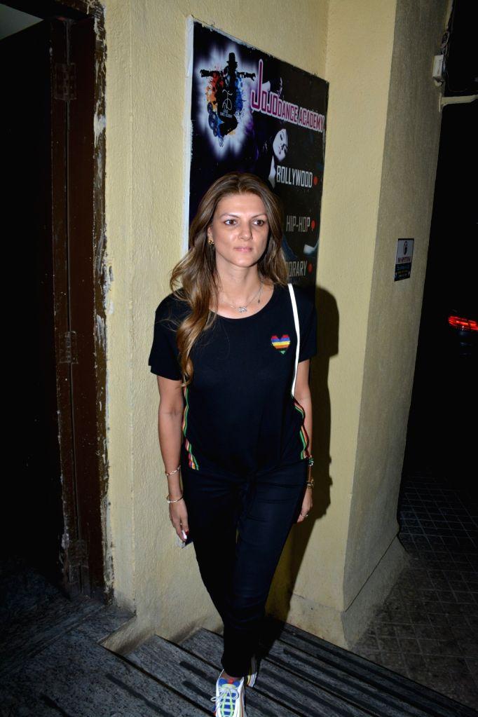 """Nandita Mahtani at the screening of upcoming film """"Kedarnath"""" in Mumbai on Dec 4, 2018."""