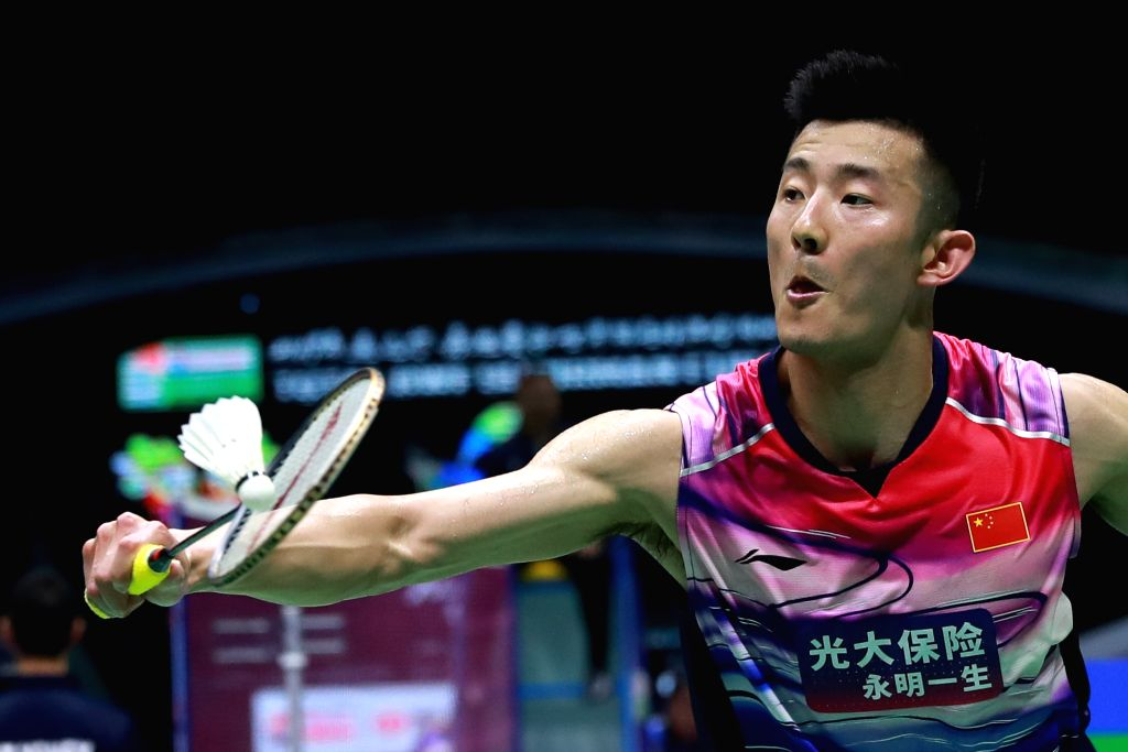 NANNING, May 22, 2019 - Chen Long of China competes during the men's singles match against Sameer Verma of India in the group match between China and India at TOTAL BWF Sudirman Cup 2019 held in ... - Sameer Verma