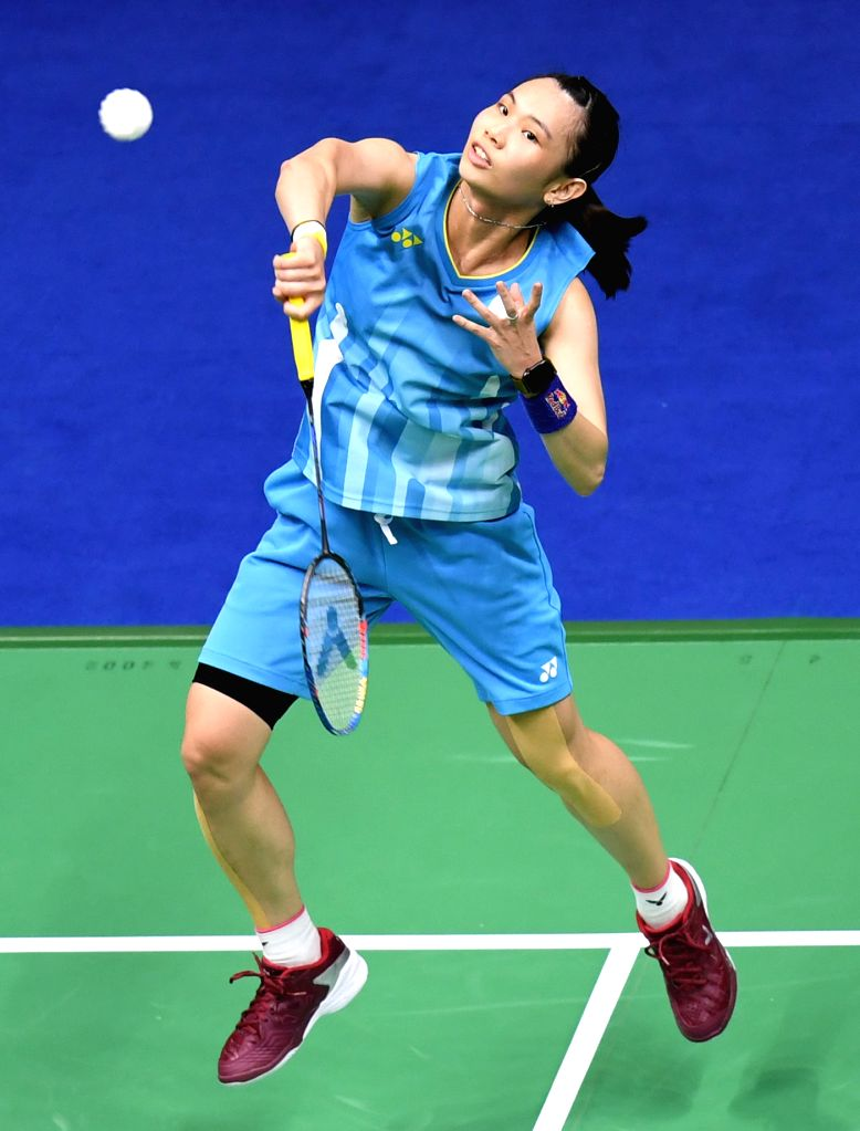 NANNING, May 22, 2019 - Tai Tzu Ying of Chinese Taipei competes during the women's singles match against An Se Young of South Korea in the group stage at Sudirman Cup 2019 in Nanning, south China's ...