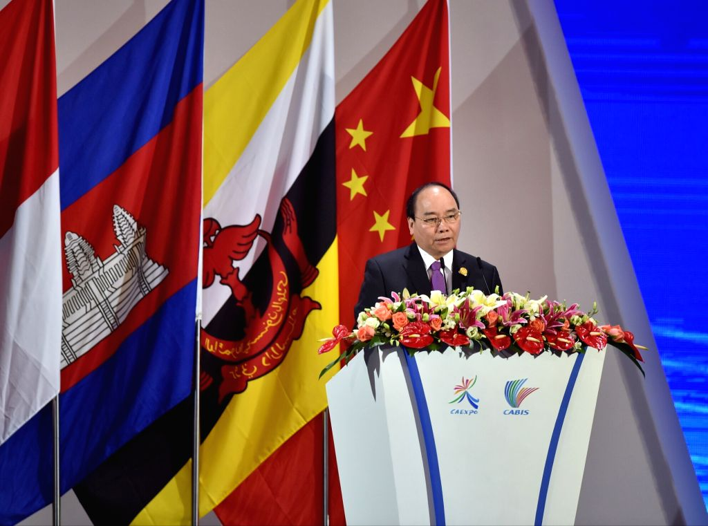NANNING, Sept. 11, 2016 - Vietnamese Prime Minister Nguyen Xuan Phuc addresses the opening ceremony of the 13th China-ASEAN Expo and the China-ASEAN Business and Investment Summit in Nanning, capital ... - Nguyen Xuan Phuc