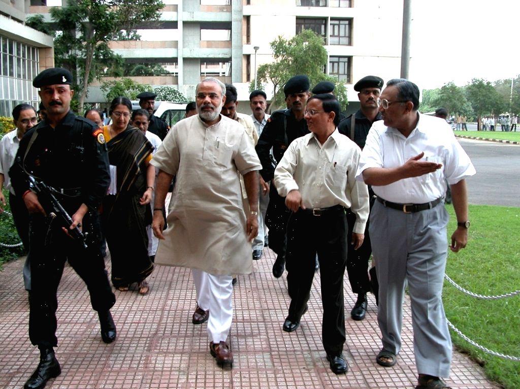 Narendra Modi, as CM, took Gujarat on the path of all-round development. - Narendra Modi