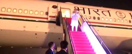 Narendra Modi leaves Dhaka after 2-day visit - Narendra Modi
