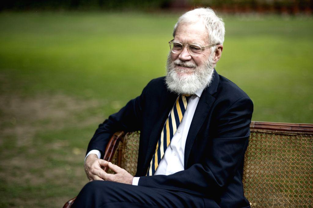 Narendra Modi with David Letterman - Narendra Modi
