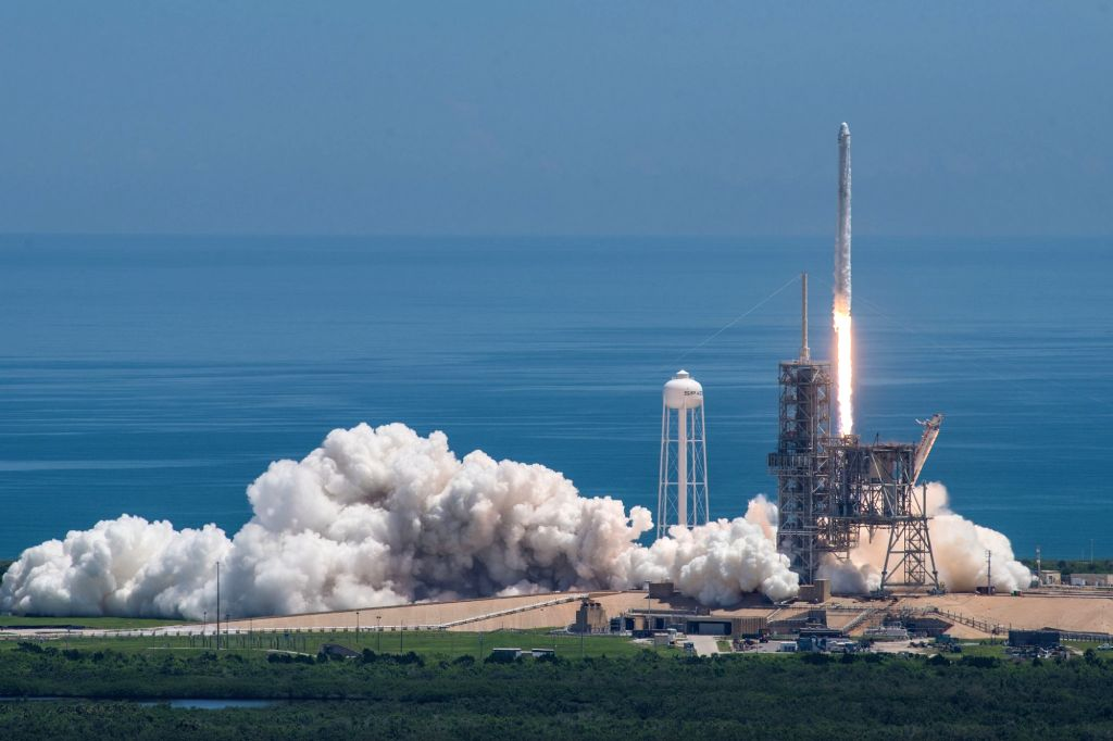 NASA and SpaceX blast off to space station