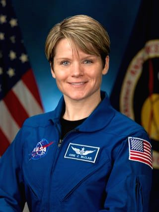 NASA astronaut Anne McClain (Source: NASA).