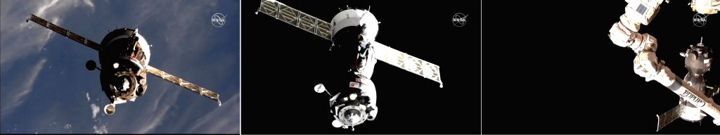 NASA astronaut Nick Hague of the Russian space agency Roscosmos have safely docked to the International Space Station (ISS), five months after their Soyuz's rocket booster malfunctioned shortly after ...