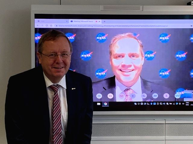 NASA, ESA ink pact to collaborate on Artemis Gateway