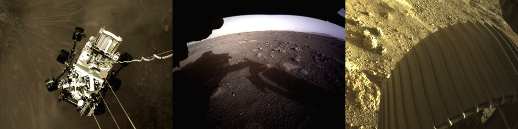 NASA rover sends 1st colour images of Mars, a selfie too.(photo:NASA)