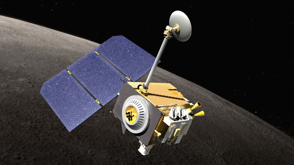 NASA's Lunar Reconnaissance Orbiter (LRO).