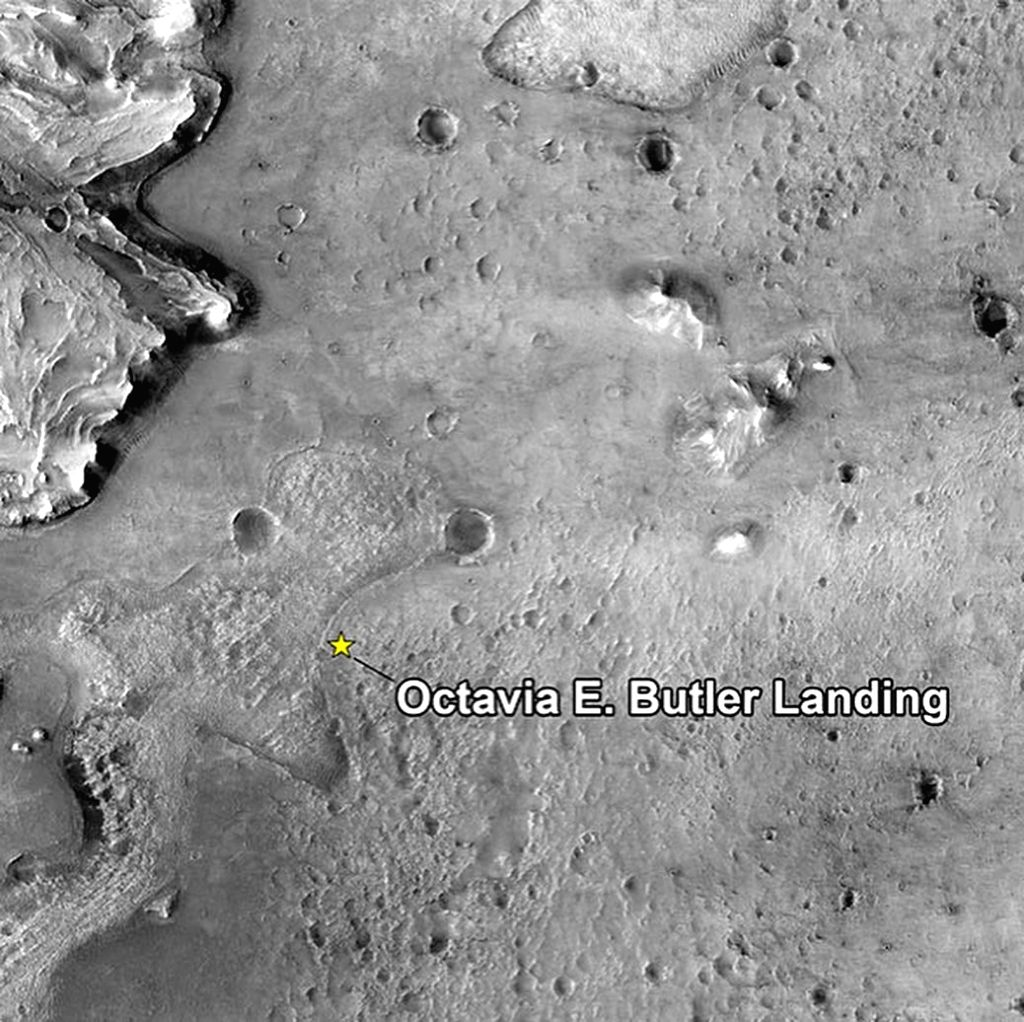 NASA's Perseverance rover performs first drive on Mars.