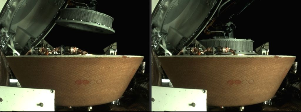 NASA spacecraft successfully stows asteroid sample.