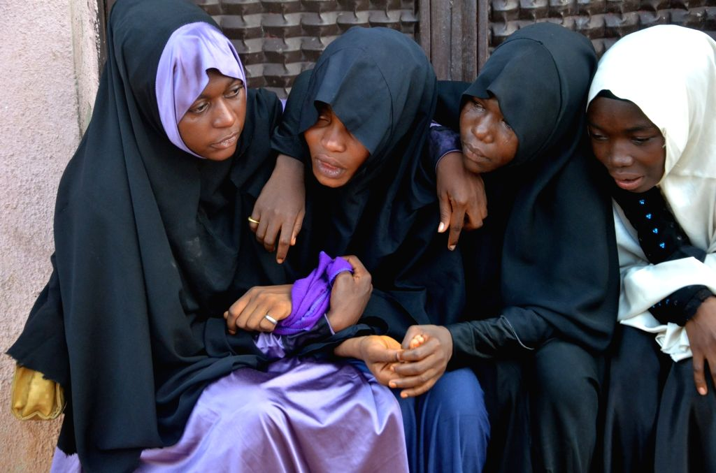 NASARAWA STATE (NIGERIA), Nov. 1, 2018 Women mourn their lost loved ones, who were killed during the violent clashes between members of Islamic Movement in Nigeria and the security forces ...