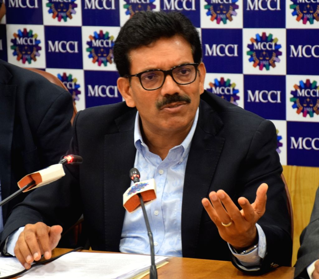 "National Anti-Profiteering Authority (NAA) Chairman B.N. Sharma during a special session on ""Anti- Profiteering in GST"" organised by Madras Chamber of Commerce and Industry (MCCI) ... - N. Sharma"