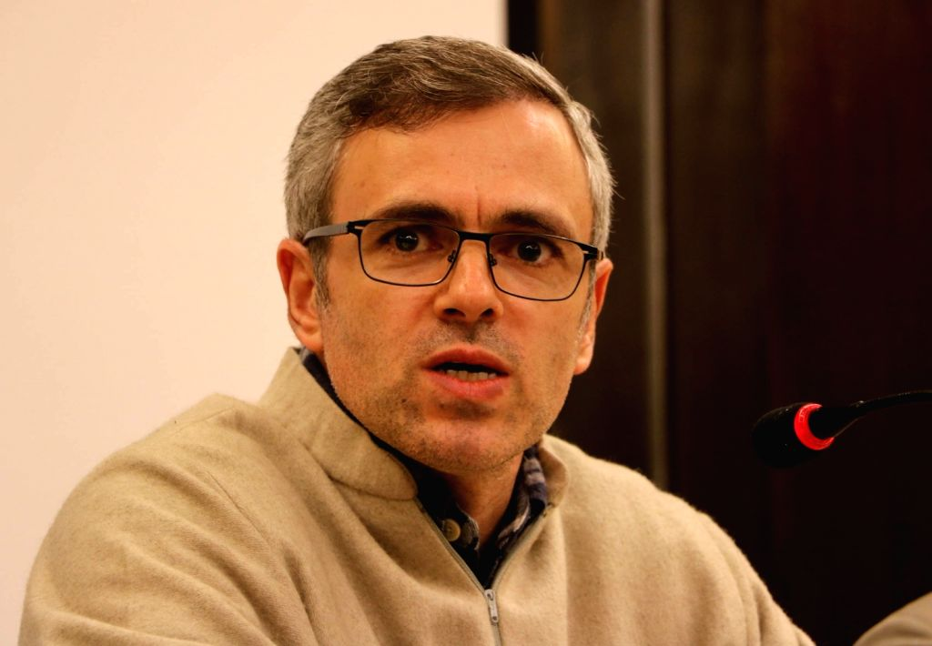 National Conference (NC) leader Omar Abdullah. (Photo: IANS)