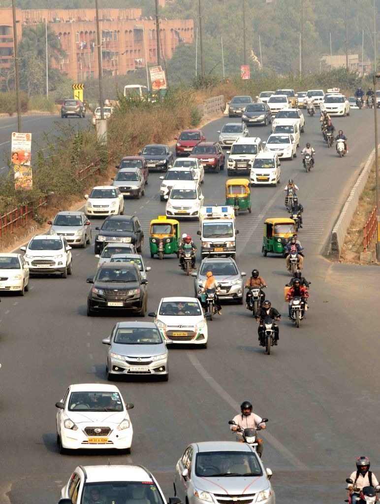 National Highway 24. (File Photo: Amlan Paliwal/IANS)