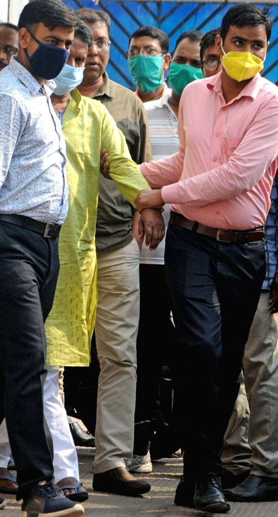 National Investigation Agency (NIA) has arrested TMC leader Chhatradhar Mahato in connection with 2009 murder case of CPI(M) leader Prabir Mahato being produce at Local Court in Kolkata on ...