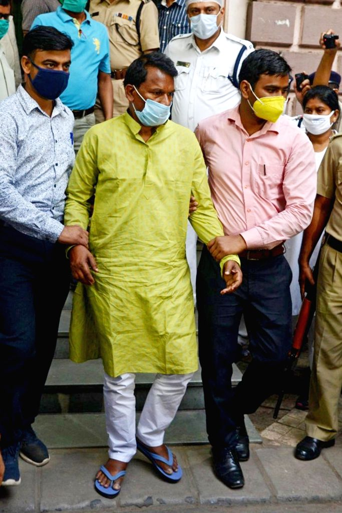 National Investigation Agency (NIA) has arrested TMC leader Chhatradhar Mahato in connection with 2009 murder case of CPI(M) leader Prabir Mahato being produced at Local Court in Kolkata on ...
