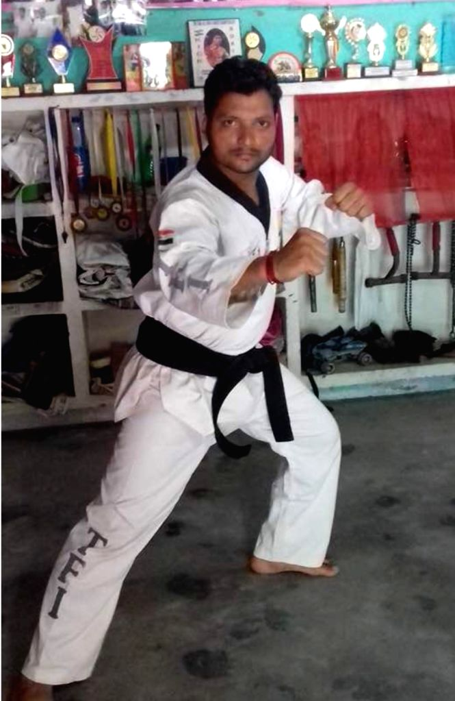 National level martial art fighter Vicky Panchal who was been arrested by Ghaziabad police for allegedly being involved in an arms smuggling racket.