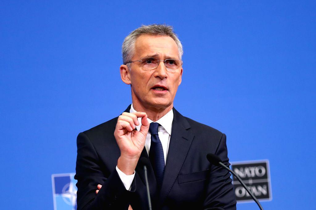 NATO Secretary General Jens Stoltenberg. (Xinhua/Zhang Cheng/IANS)