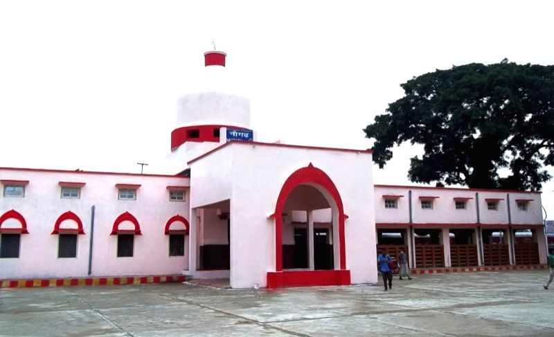 Naugarh railway station. (Photo By: RailMitra)