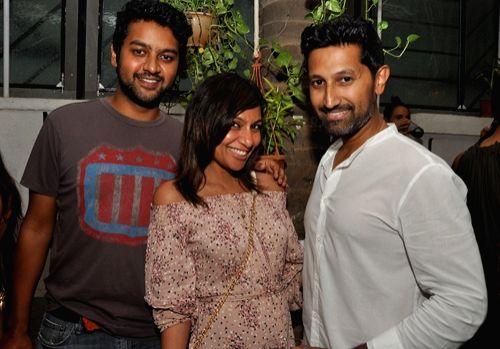 Naushaad, Malini and Raj Eappen during Mirabella Bar & Kitchen Launch in Mumbai on July 4, 2016.