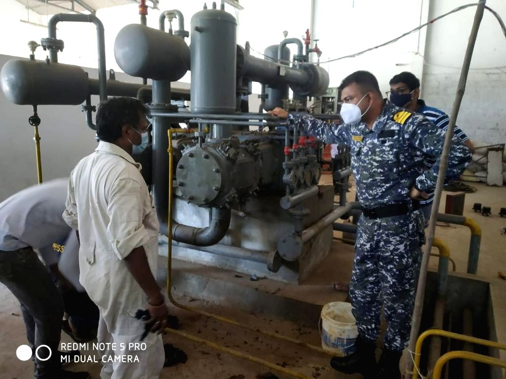 Naval Dockyard Vizag repairs two oxygen plants in Andhra