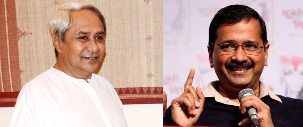 Naveen Patnaik,Arvind Kejriwal - Arvind Kejriwal
