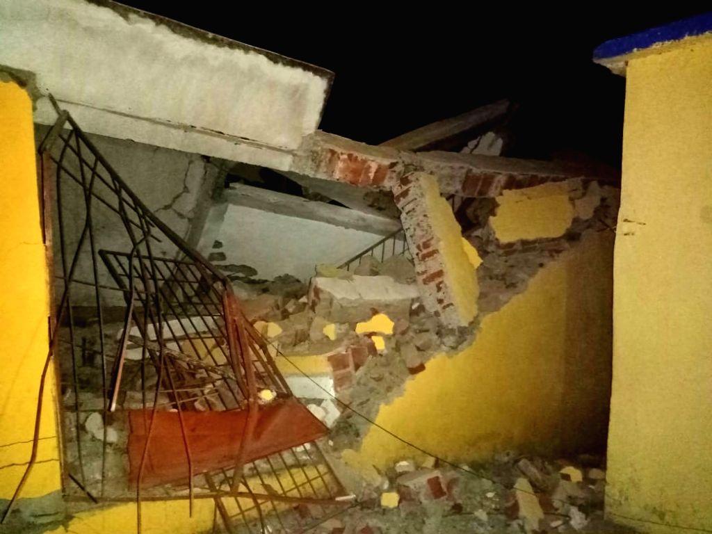 Naxalites blast community building in Bihar