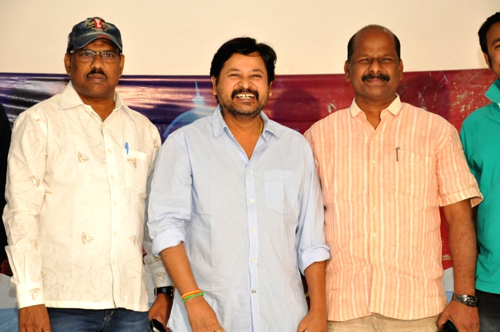 Nayaki Movie press meet held at Hyderabad today morning.