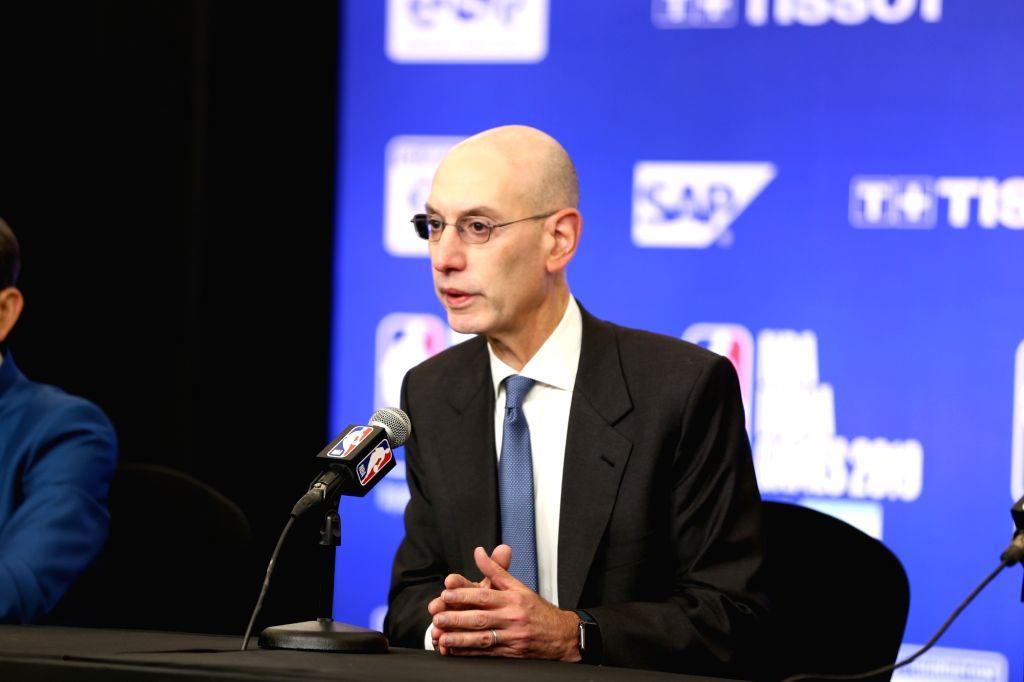 NBA Commissioner Adam Silver. (File Photo: IANS)