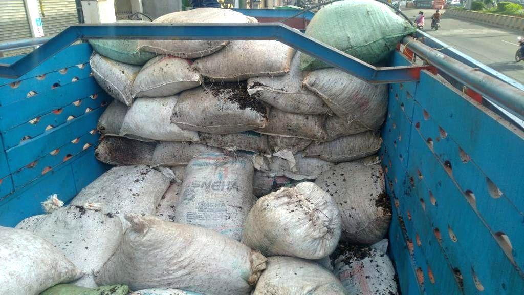 NCB Bengaluru zone sleuths make largest-ever ganja seizure.
