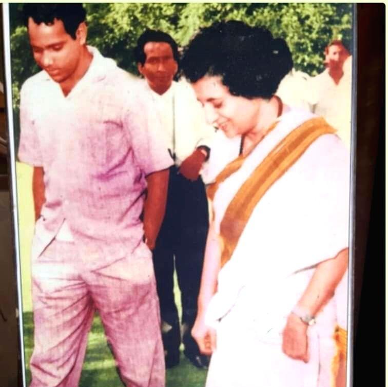 NCP chief Sharad Pawar with Late Prime Minister Indira Gandhi. (File Photo: IANS) - Indira Gandhi