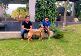 "ndia wicketkeeper Rishabh Pant on Friday posted pictures with MS Dhoni and his dog on his social media platforms, saying ""good vibes"" only a day after chief selector M.S.K. Prasad said the ... - MS Dhoni"