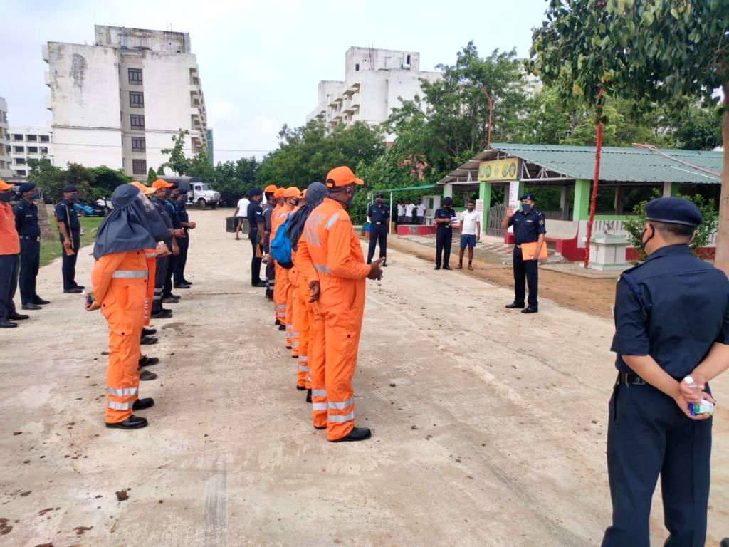 NDRF teams deployed across Bihar districts in view of floods.