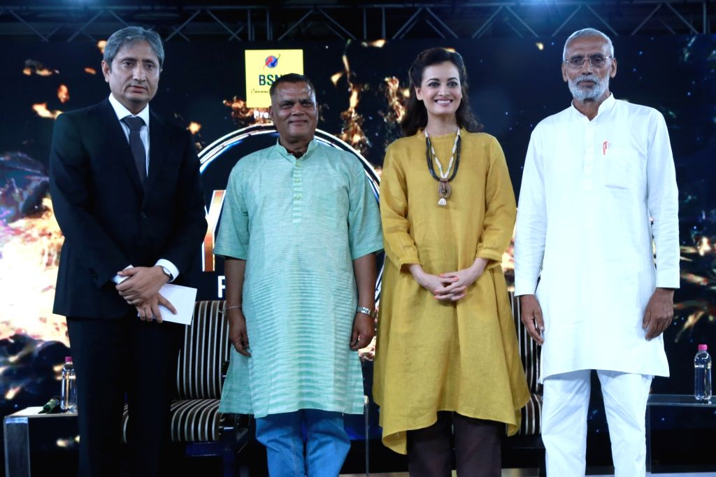 NDTV Youth for Change Conclave ,in New Delhi on Sept 17,2016.