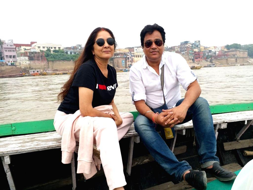 Neena Gupta and Manu Rishi Chadha. - Neena Gupta