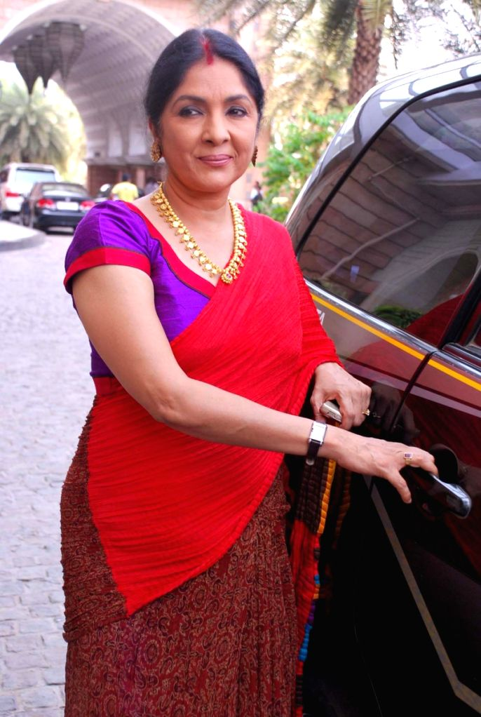 Neena Gupta at the press meet of Dus Ka Dum 2. - Neena Gupta