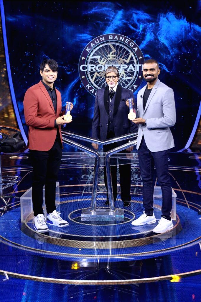 Neeraj Chopra and PR Sreejesh to appear next on 'KBC 13' hotseat. - Neeraj Chopra