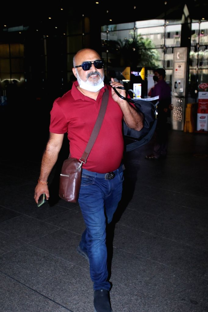 Neeraj Sharma Spotted At Airport Arrival on Monday 01st March 2021.