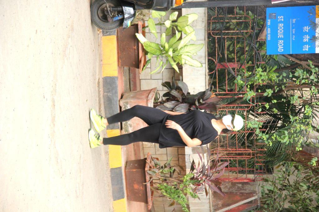 Neha Dhupia and Angad Bedi Spotted At Bandra On Monday, 31 May, 2021. - Neha Dhupia