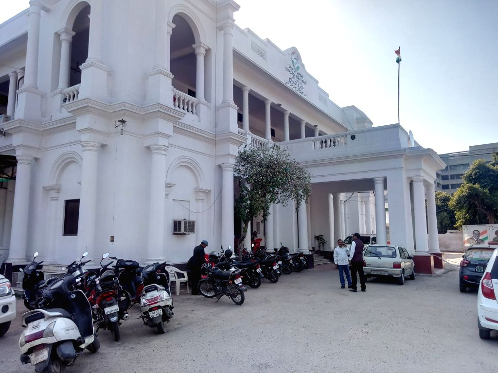 Nehru Bhawan, Congress office in Lucknow. (File Photo: IANS)