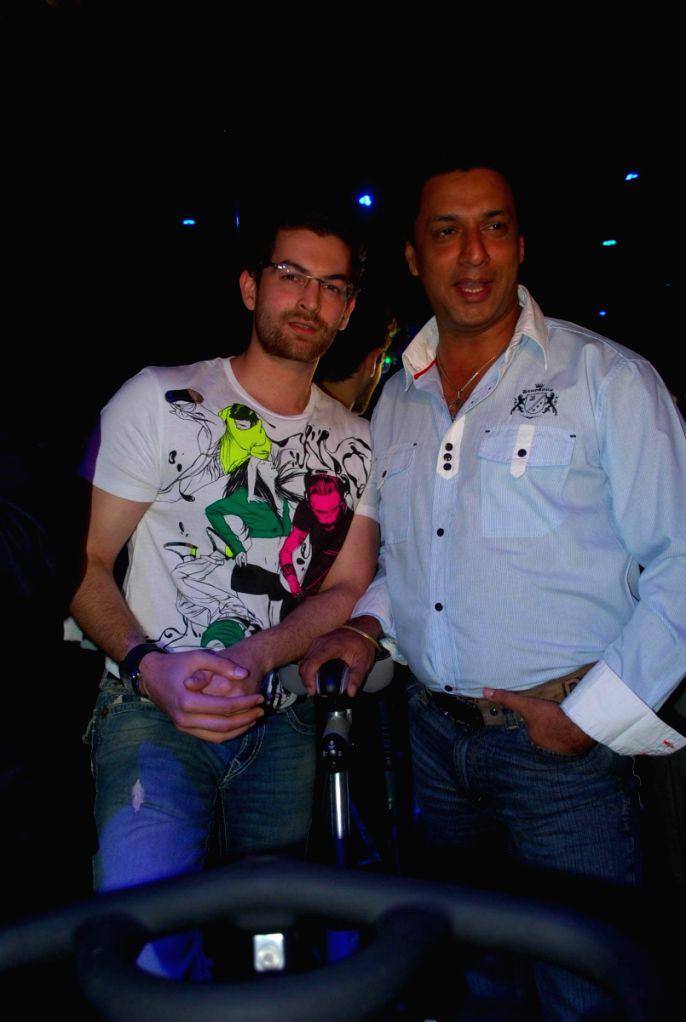Neil Mukesh and Madhur at Baqar's Spinnathon event.