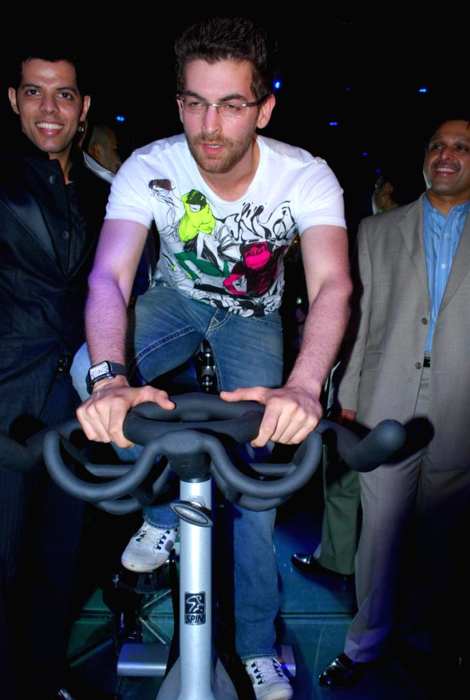 Neil Mukesh at Baqar's Spinnathon event.