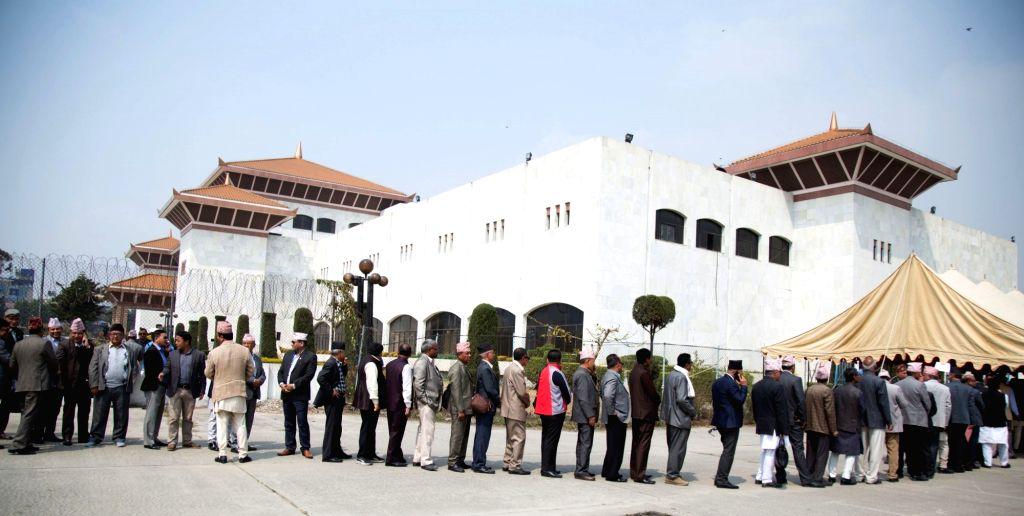 Nepali lawmakers tested for COVID-19 ahead of budget session