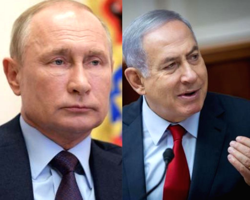 Netanyahu, Putin discuss regional security issues