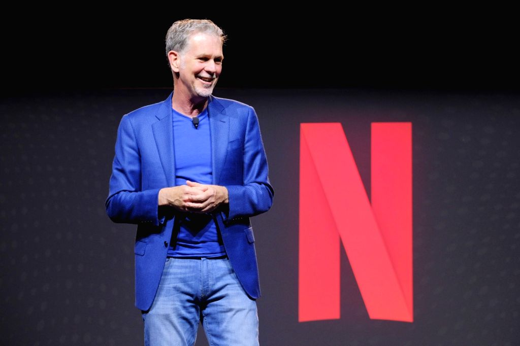 Netflix CEO Reed Hastings,