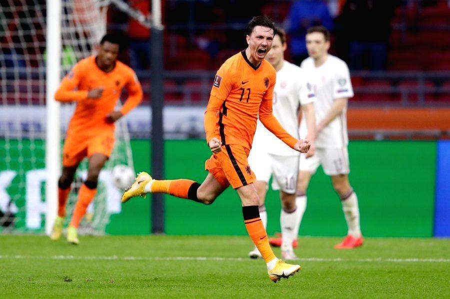Netherlands beat Latvia in World Cup qualifier. ( Credit : Steven Berghuis/twitter)